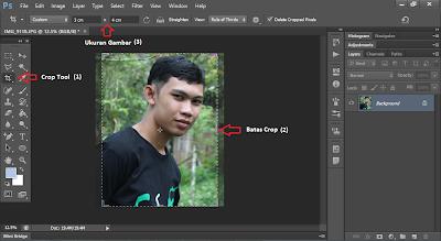 merubah ukuran gambar, potong, foto, tutorial photoshop, belajar photoshop
