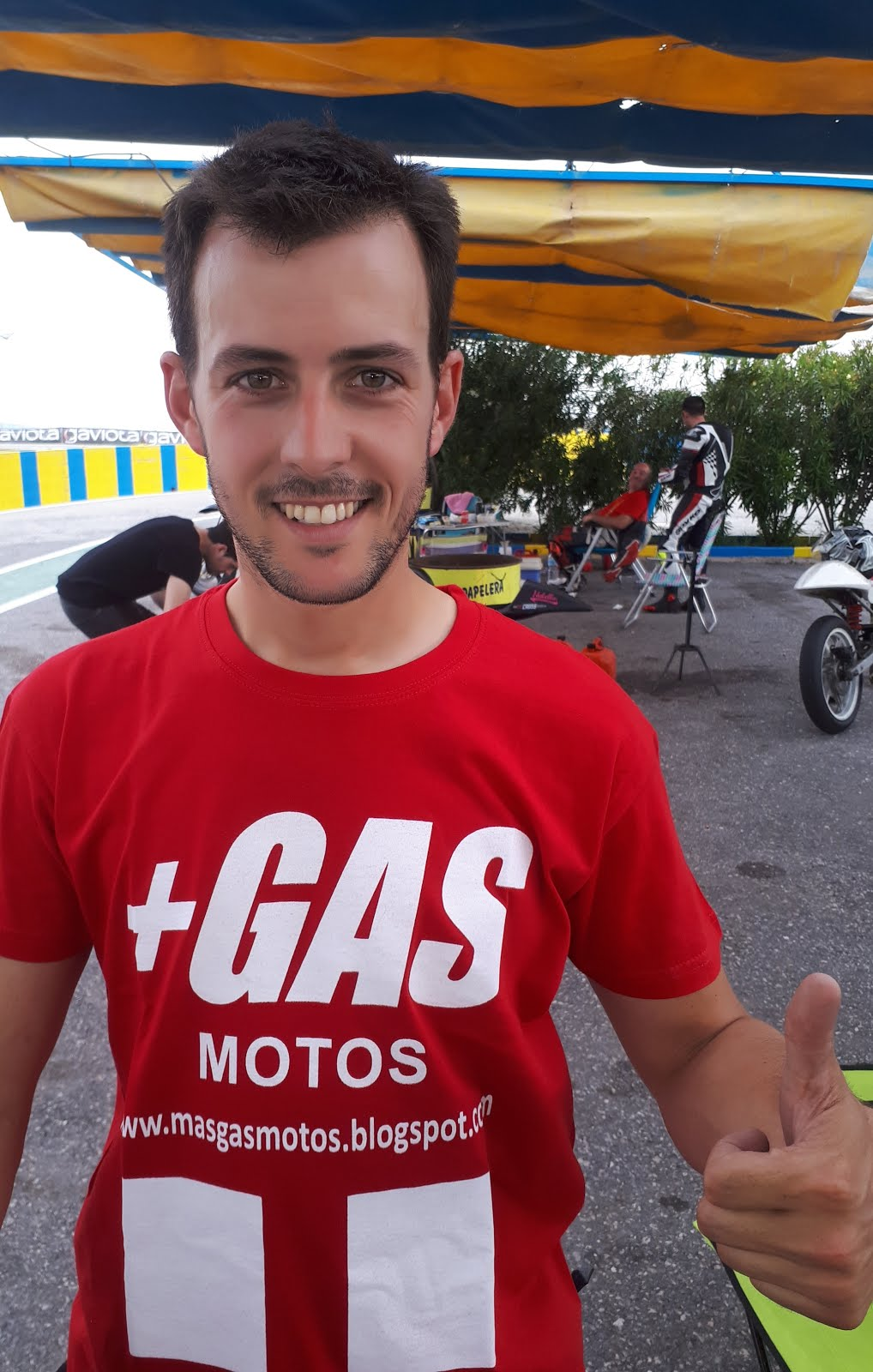 Piloto +GAS Supermotard