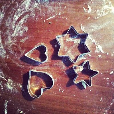 Ausstechformen Plätzchen für Post aus meiner Küche