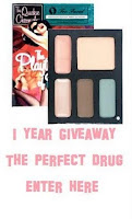 1 Year Blogging Giveaway- Too Faced Passionate Peacock Make Up Palette