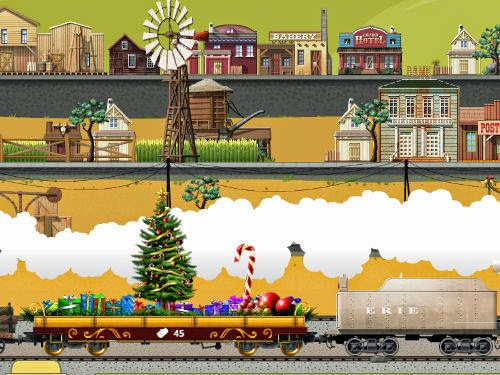 Train Station Game Christmas Tree