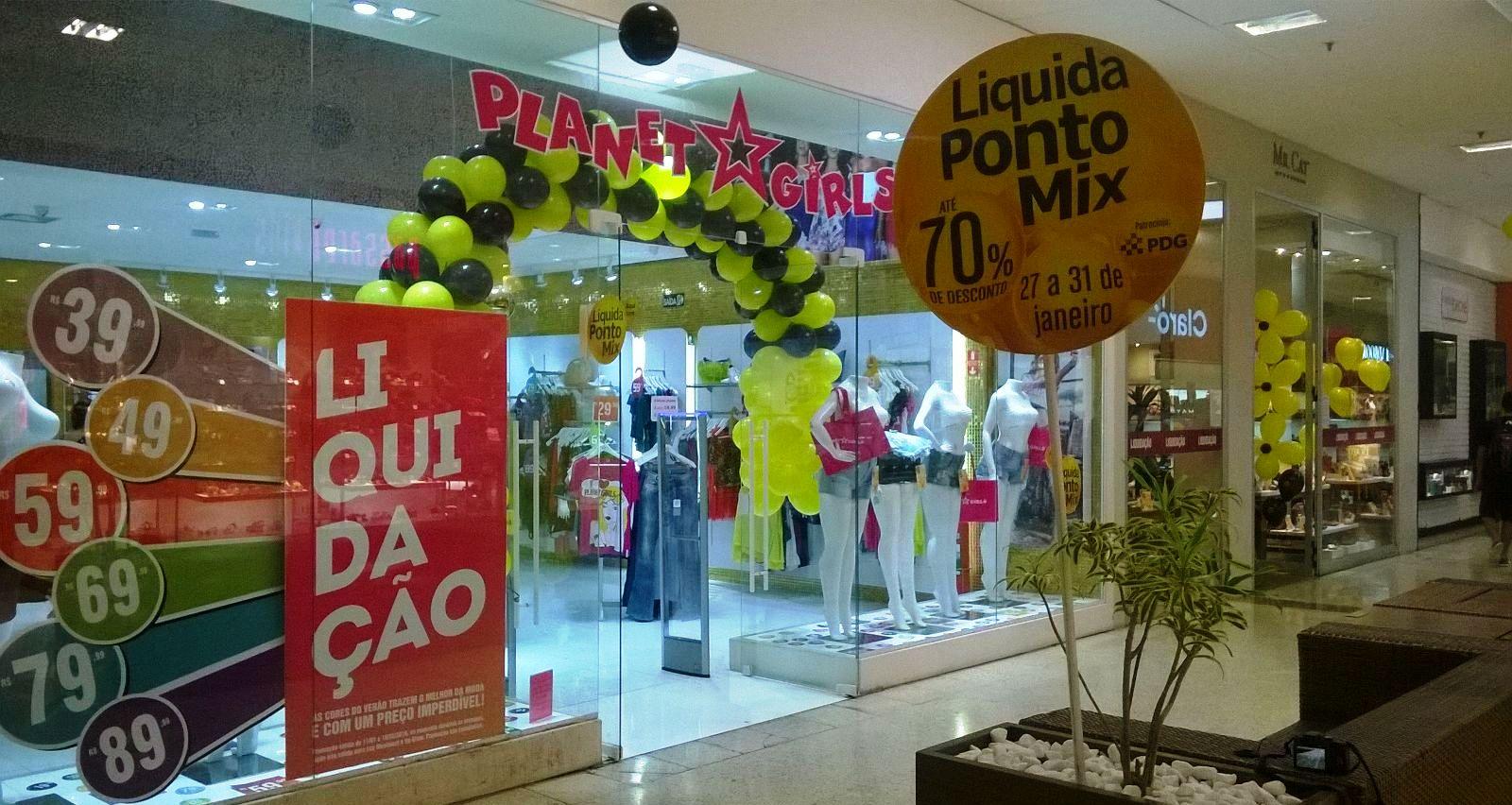 57be2041a66a4 Liquidação garante até 70% de desconto nas lojas do Shopping Piracicaba
