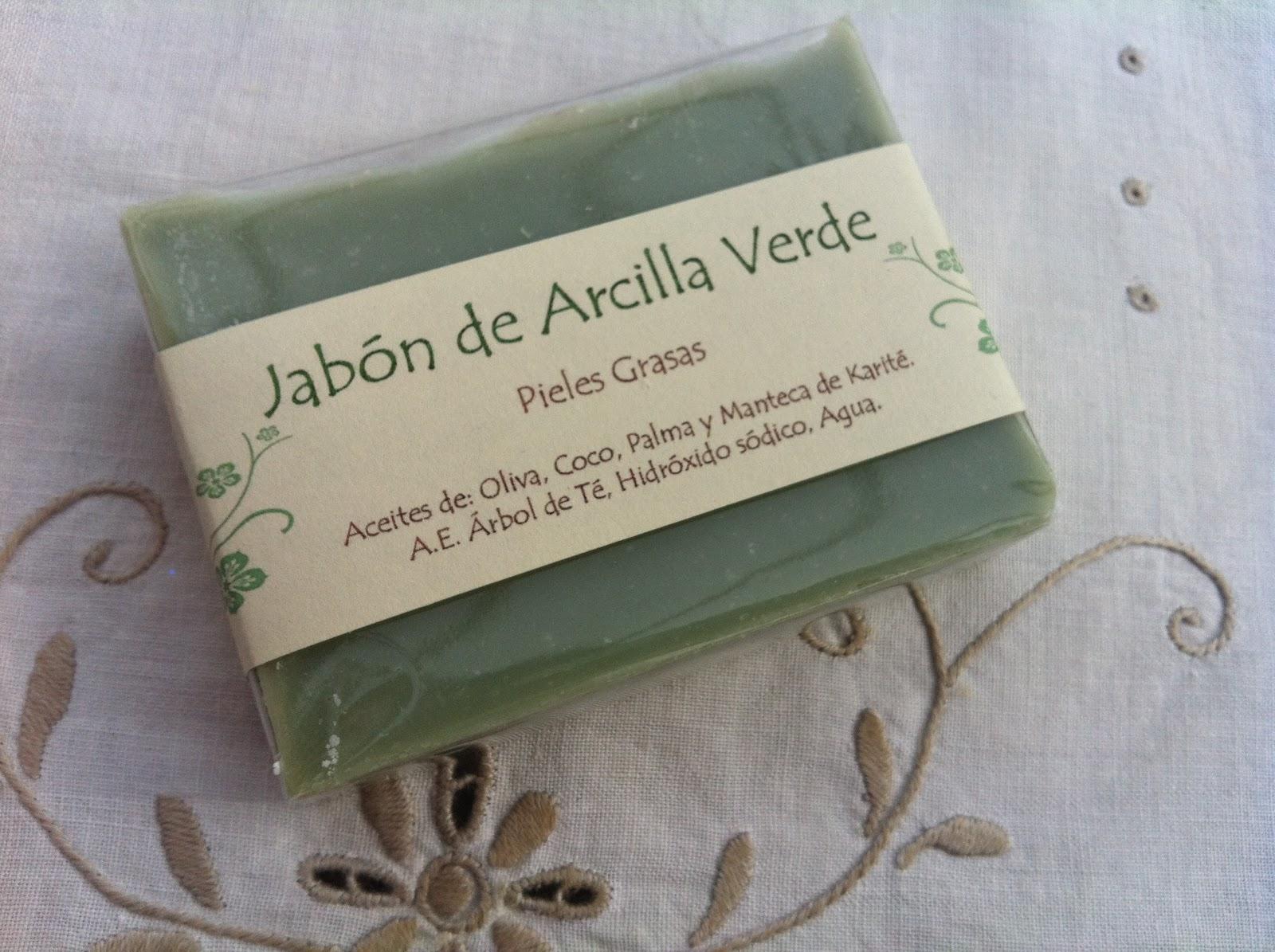 Baño De Arcilla Verde:jabón, pensado para todas aquellas personas que tienen la piel con