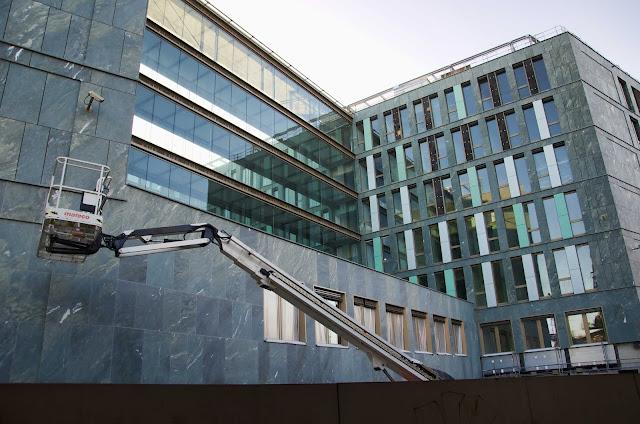 Baustelle Neubau des Bundesministeriums für Bildung und Forschung, Dienstsitz Berlin, Haus am Kapelle-Ufer, 10117 Berlin, 09.03.2014