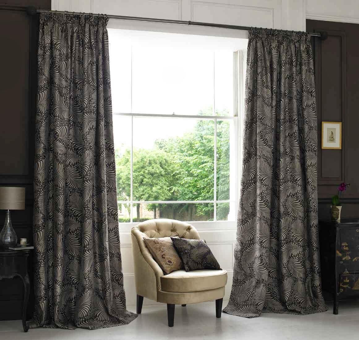 Dark gray curtains - Curtain Modern Grey Curtains