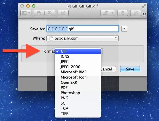 इमेज एडिटर से GIF इमेज बनायें