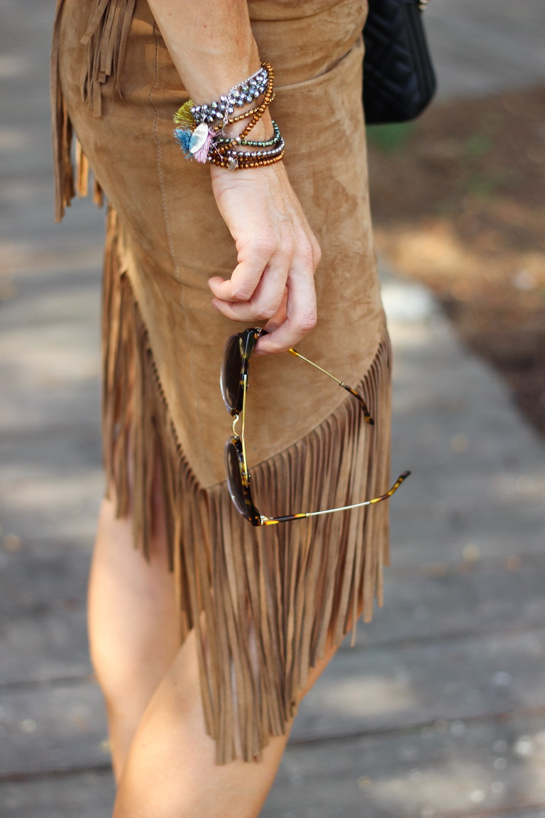 Falda flecos, Stilettos animal print, fashion blogger, streetstyle,