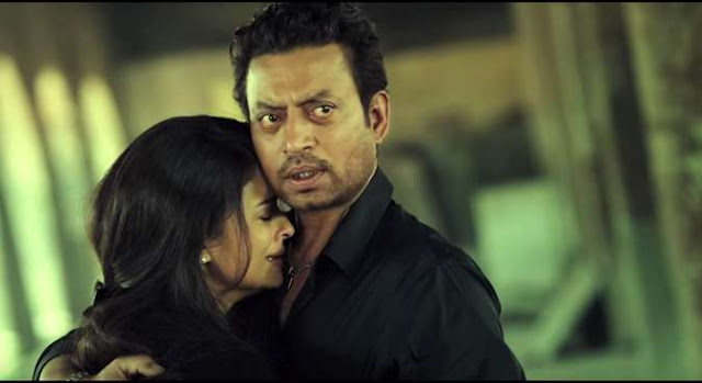 Aishwarya rai and Irfan Khan in Jazbaa