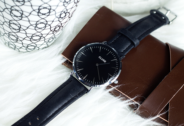 Fashion Attacks CLUSE watches La Bohème Silver Black/Black giveaway