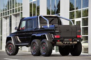 Brabus B63S alias Mercedes G63 AMG 6x6