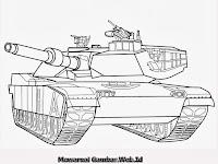 Gambar mobil tank buatan Indonesia Untuk Mewarnai