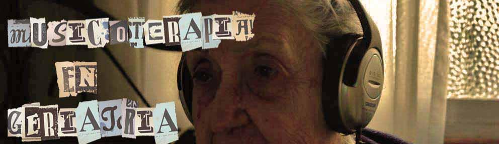 musicoterapia en geriatria