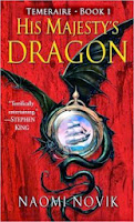 Cover of His Majesty's Dragon by Naomi Novik