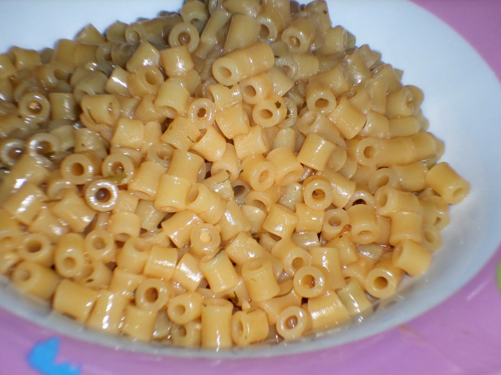 receita de macarrão oriental