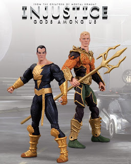 """DC Collectibles Injustice: Gods Among Us 3.75"""" Black Adam and Aquaman Figure 2-Pack"""