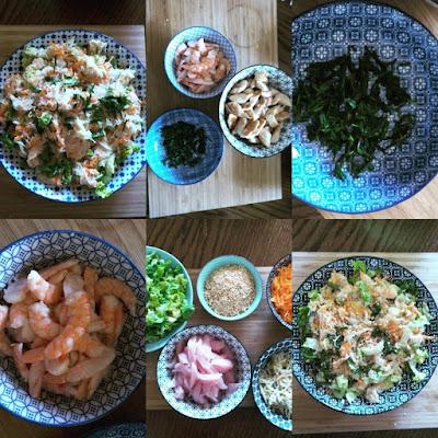 La salade thaïlandaise, la recette pour 4 à 6 personnes