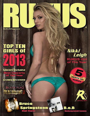 Nikki Leigh Hot pics from Rukus Magazine Photoshoot January 2014