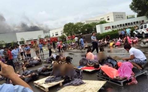 Nổ nhà máy sản xuất thép tại Trung Quốc, 65 người thiệt mạng