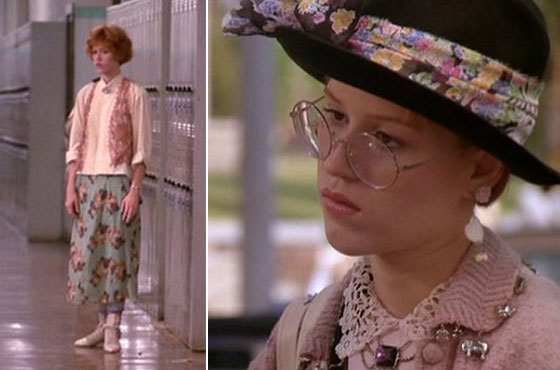 Essential life lessons we learned from '80s movies ... Stylish Cool Girl With Hat