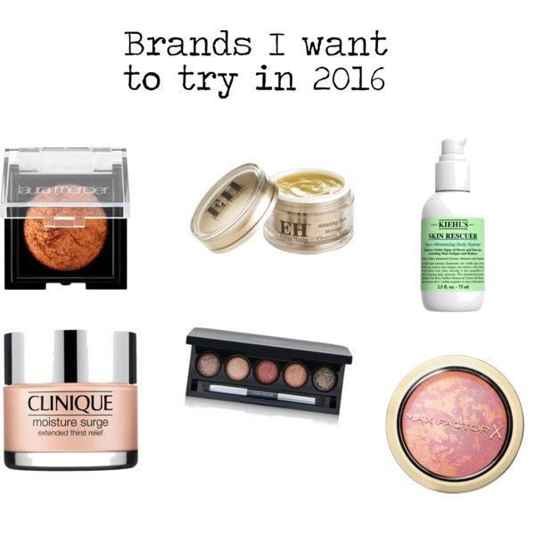 Brands to try in 2016