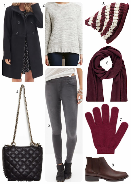 Autumn winter Fashion board style board number 1 casual