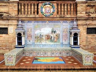 Plaza de España - Sevilla - Azulejo de Granada