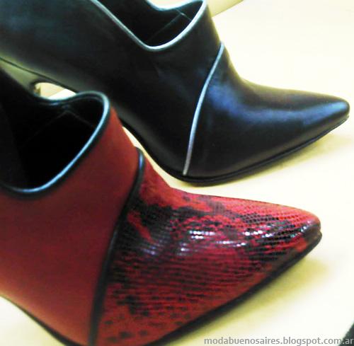 Micheluzzi otoño invierno 2014 zapatos.