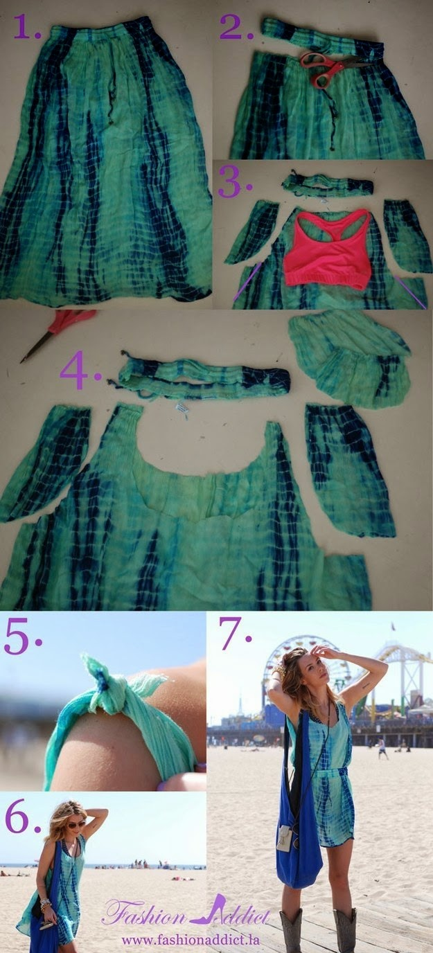 6 No-Sew Tela Mostrar Ideas - Curbly ()