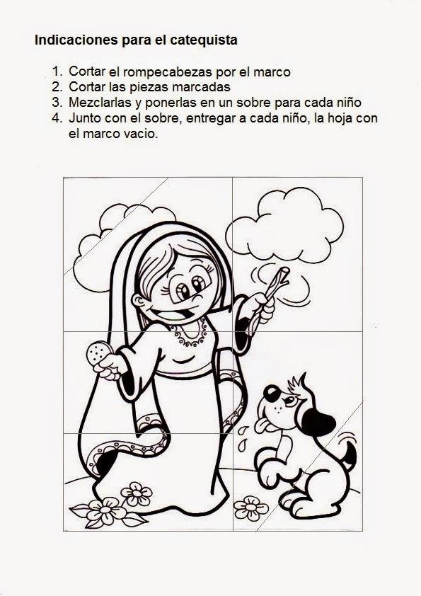 La Catequesis (El blog de Sandra): Recursos Catequesis Rompecabezas ...