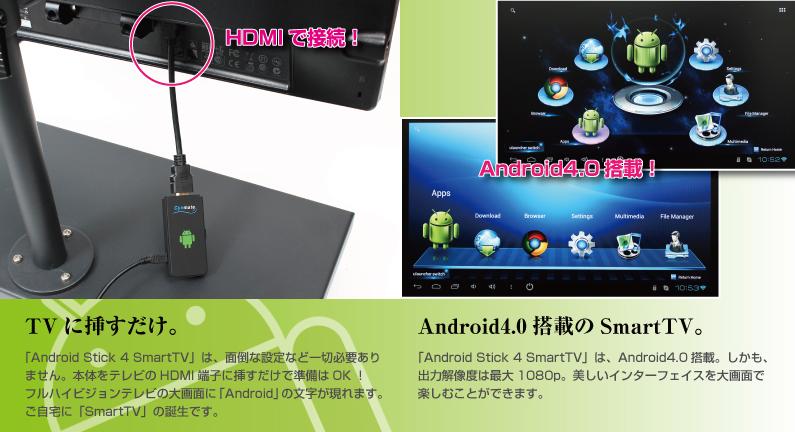 KK PP 'S BUTSUYOKU LIFE  サンコー Android Stick 4 SmartTV ANDHDM40