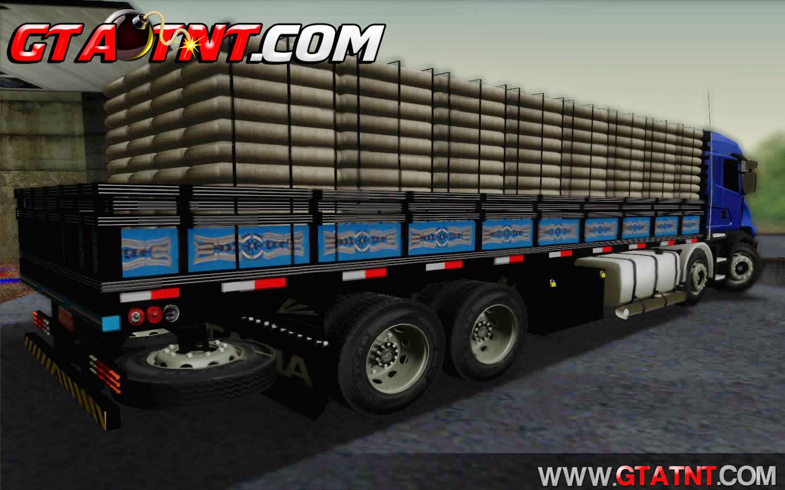 Scania 124 Bicuda Bitruck para GTA San Andreas