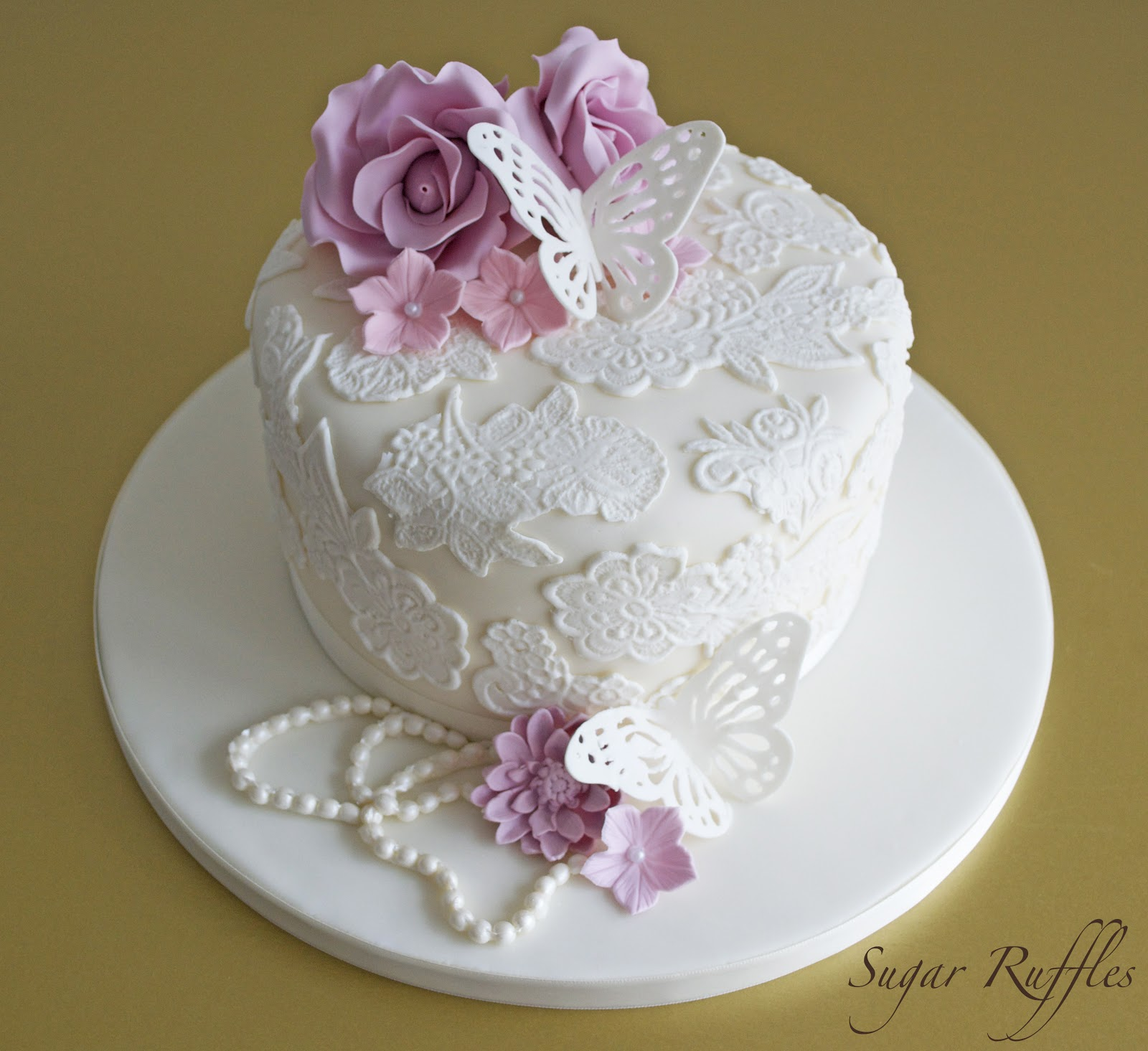 Flowers Vintage Ideas Cake Pretty Pictures Picturesboss