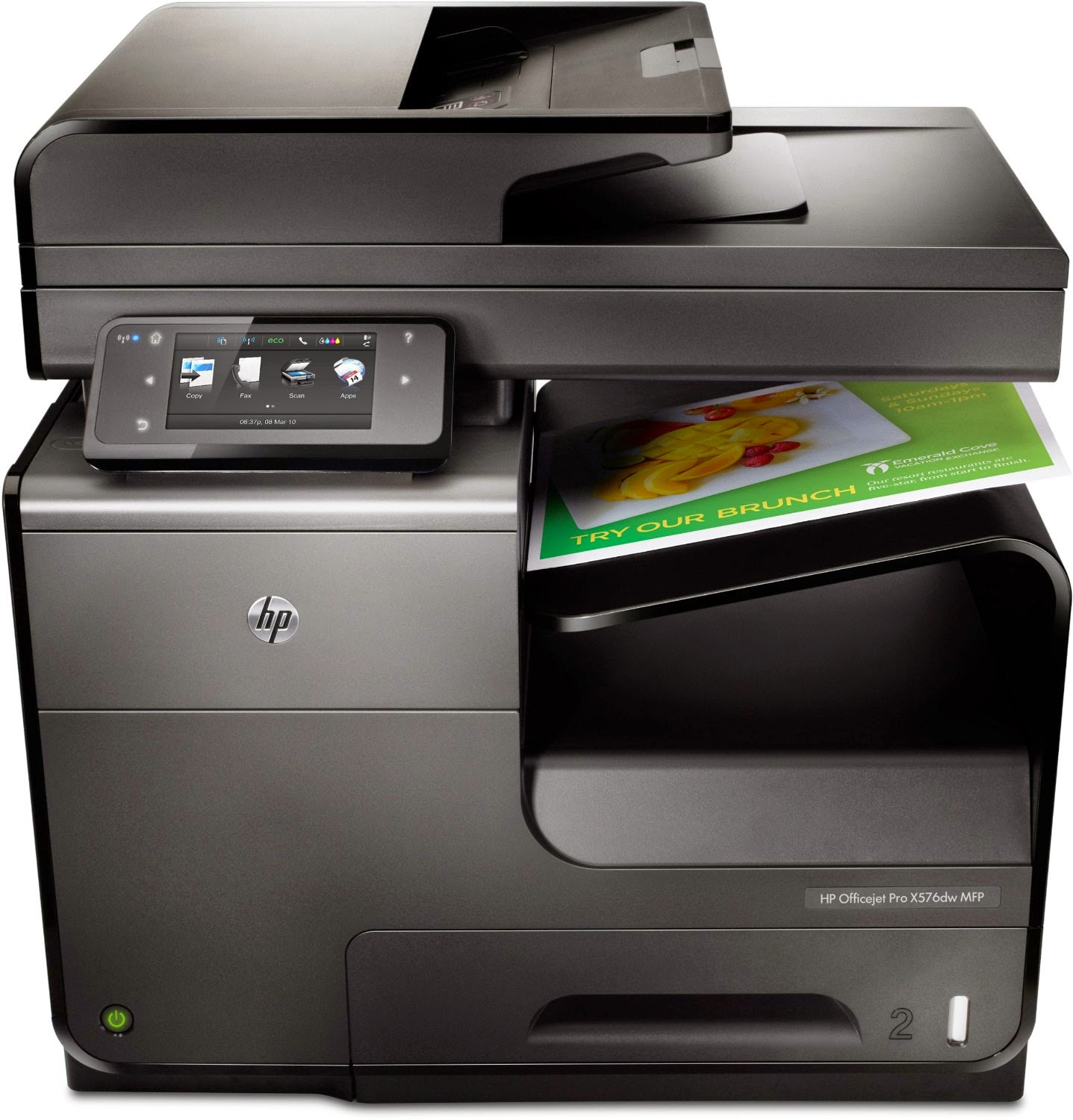 HP Officejet Pro X576dw Multifunction Printer (CN598A)
