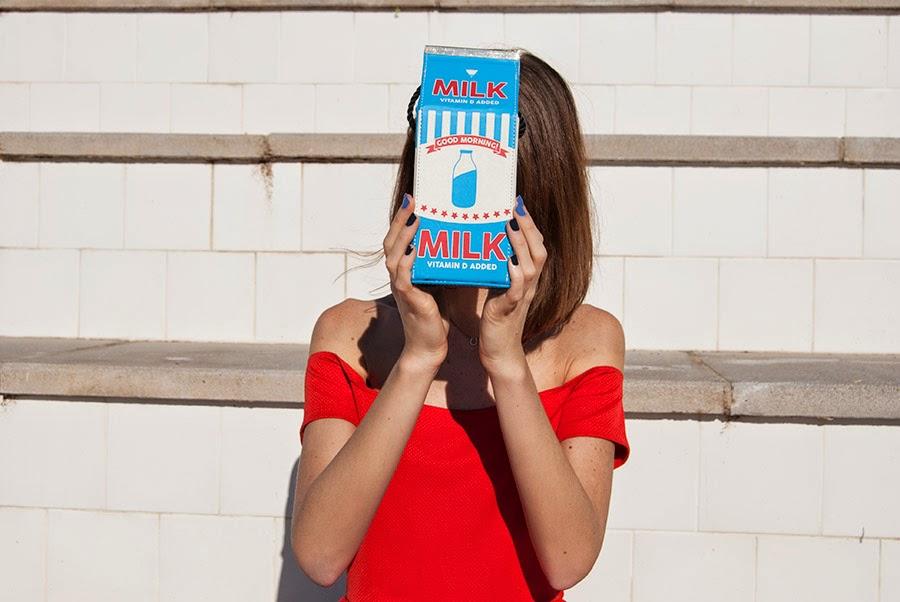 Milk Bag Elle et ses rêves