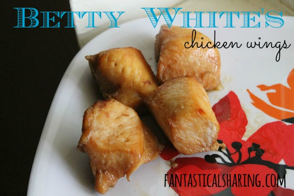 Betty White's Chicken Wings: delicious wings with an hint of Asian flair | www.fantasticalsharing.com