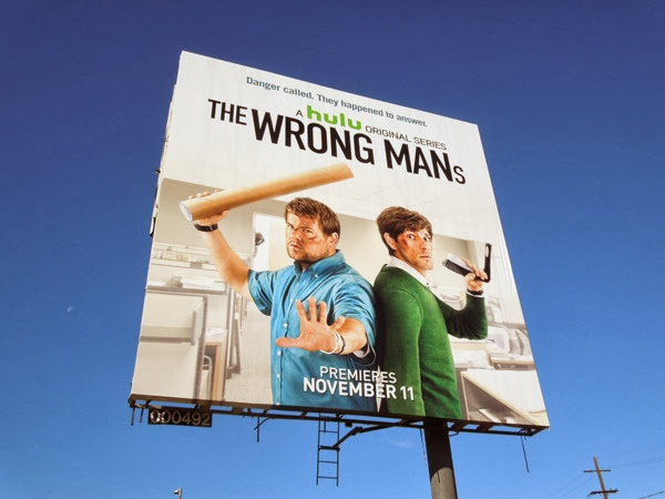 Wrong Mans US billboard