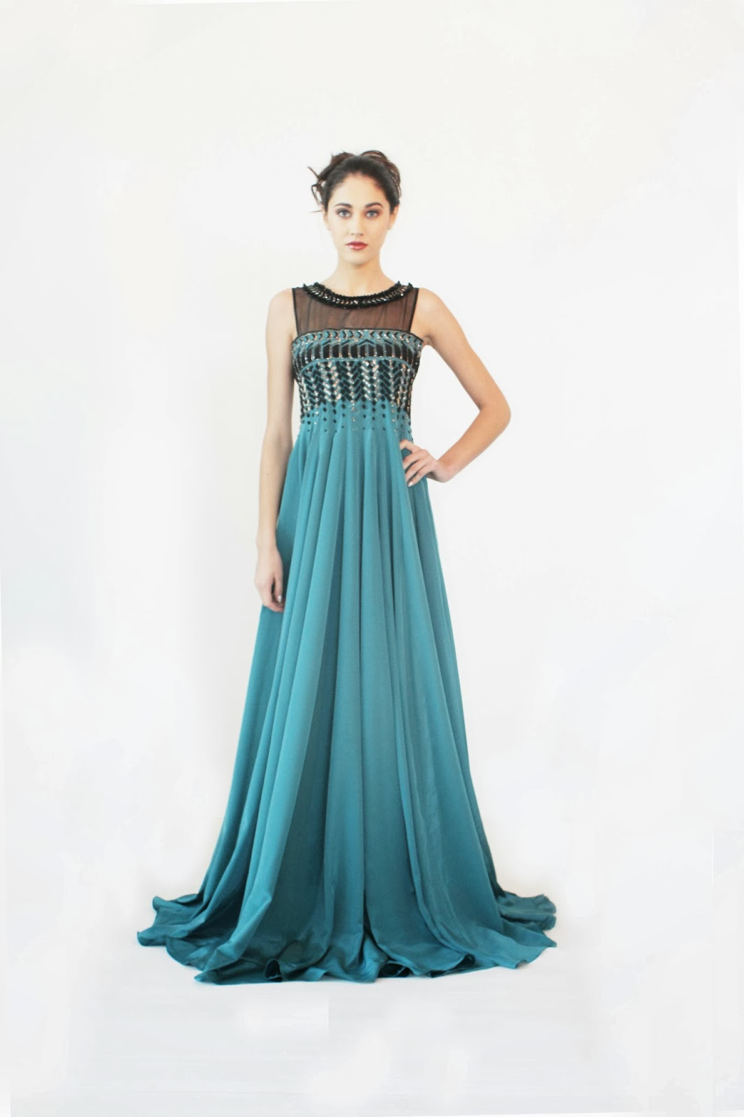Jade Innana Collection - Glamorous Evening Gowns and Playful Dresses ...