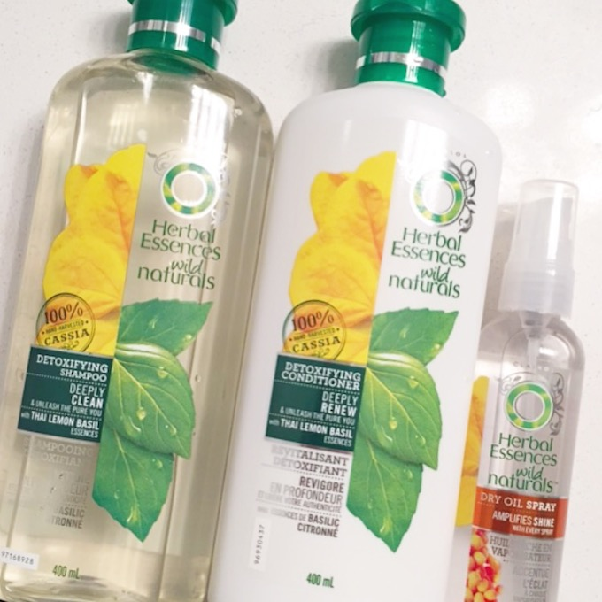 Herbal Essences Wild Naturals Detoxifying line: A quick review