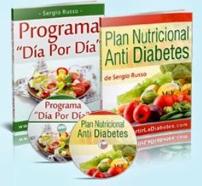 libros programa dia por dia y plan nutricional antidiabetes parte de los bonos del método revertir la diabetes