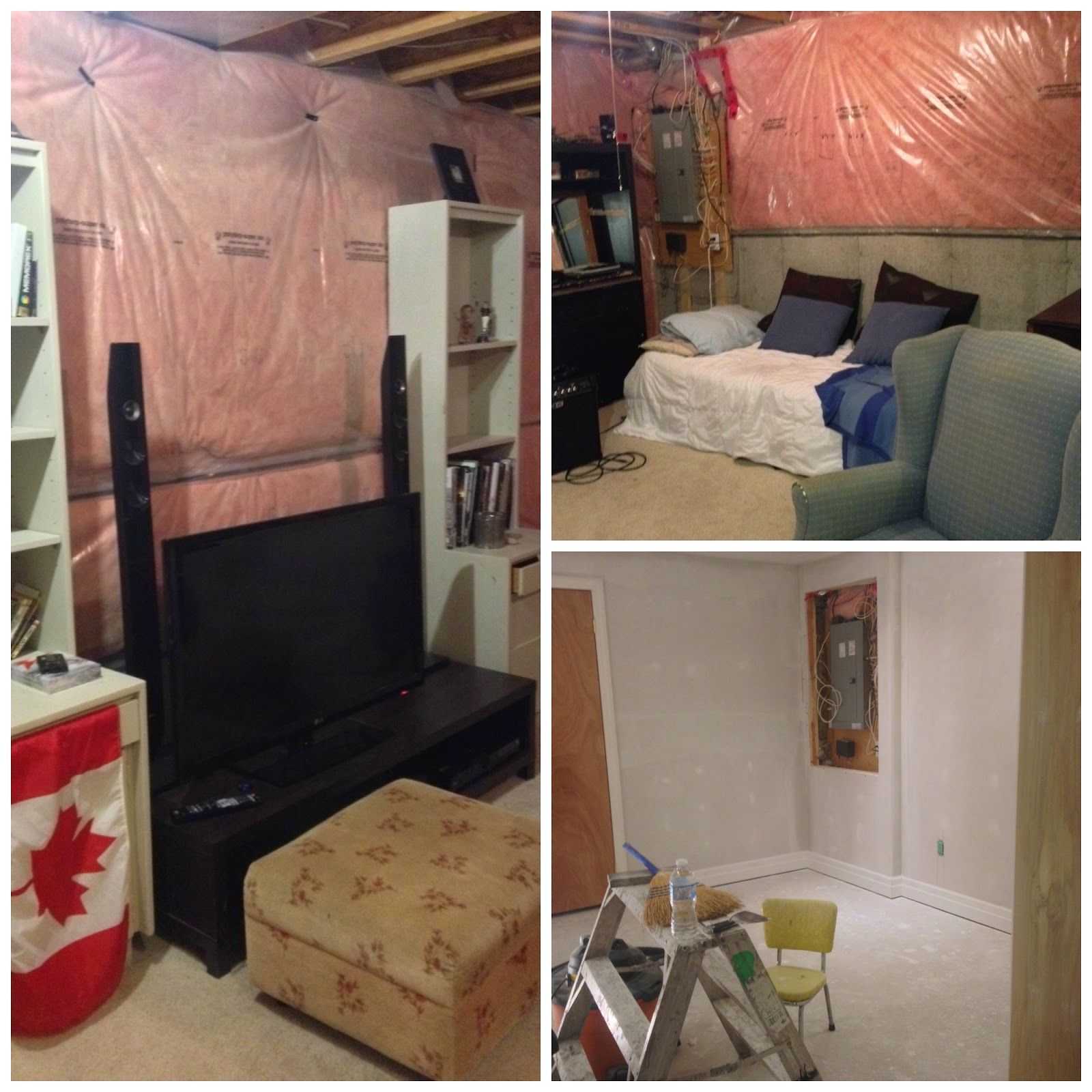 Style to move blog basement blitz before after teen boy 39 s room - Boys basement bedroom ...