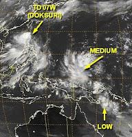 Sturmsituation Tropen global, Debby, Ernesto, Doksuri, Dindo, Khanun, Enteng, aktuell, Satellitenbild Satellitenbilder, Juni, 2012, Atlantische Hurrikansaison, Hurrikansaison 2012, Taifunsaison 2012,