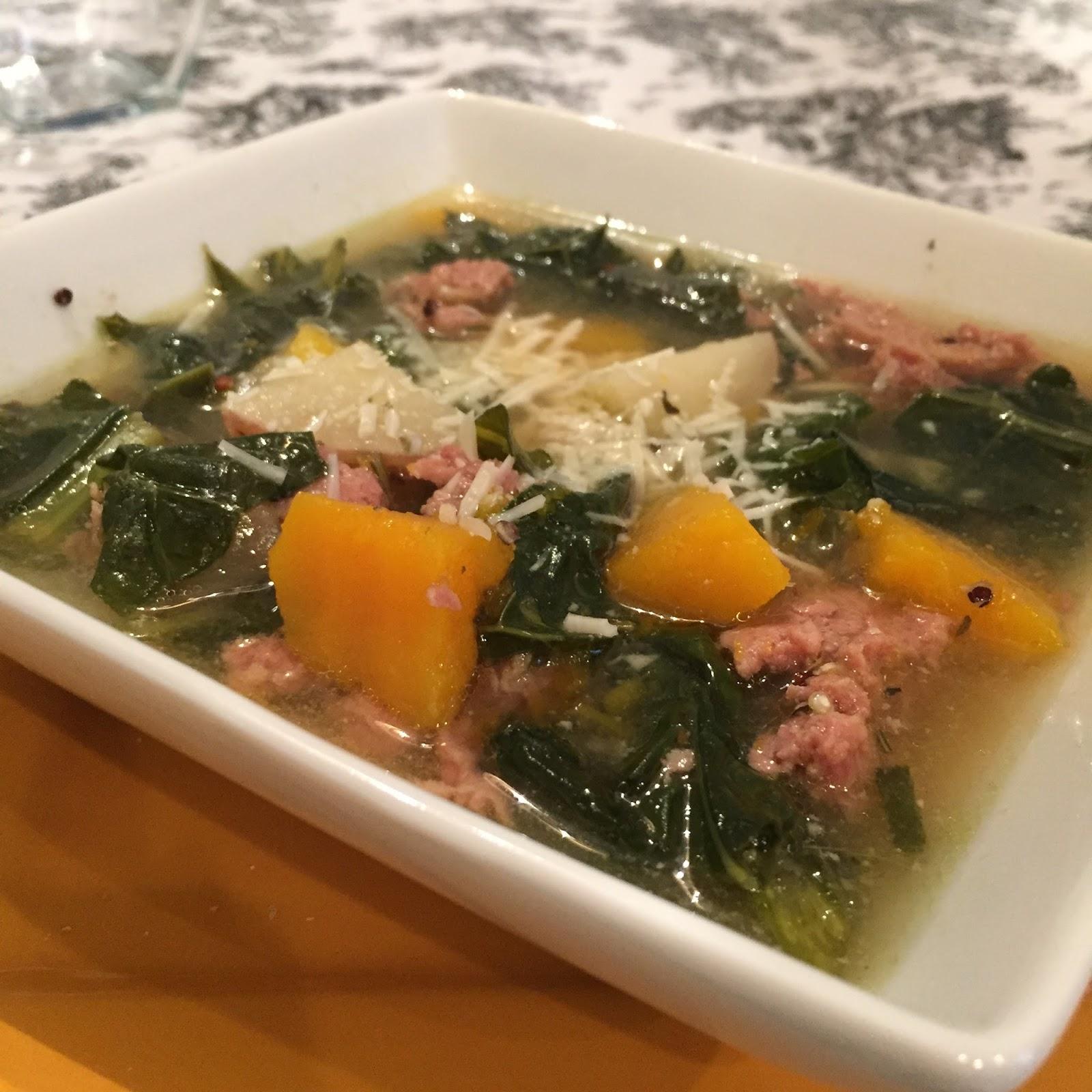 Gourmet Mom on-the-Go: Butternut Squash, Kale & Turkey Sausage ...