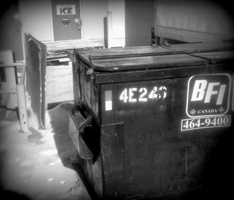 image of garbage bin.
