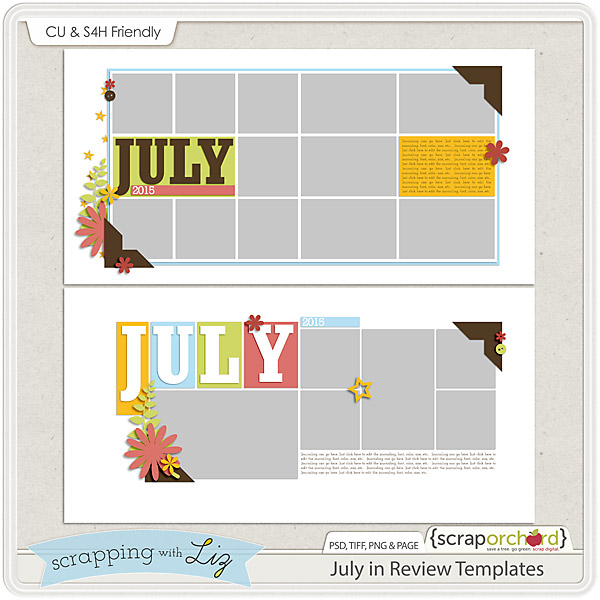 http://scraporchard.com/market/July-in-Review-Digital-Scrapbook-Templates.html