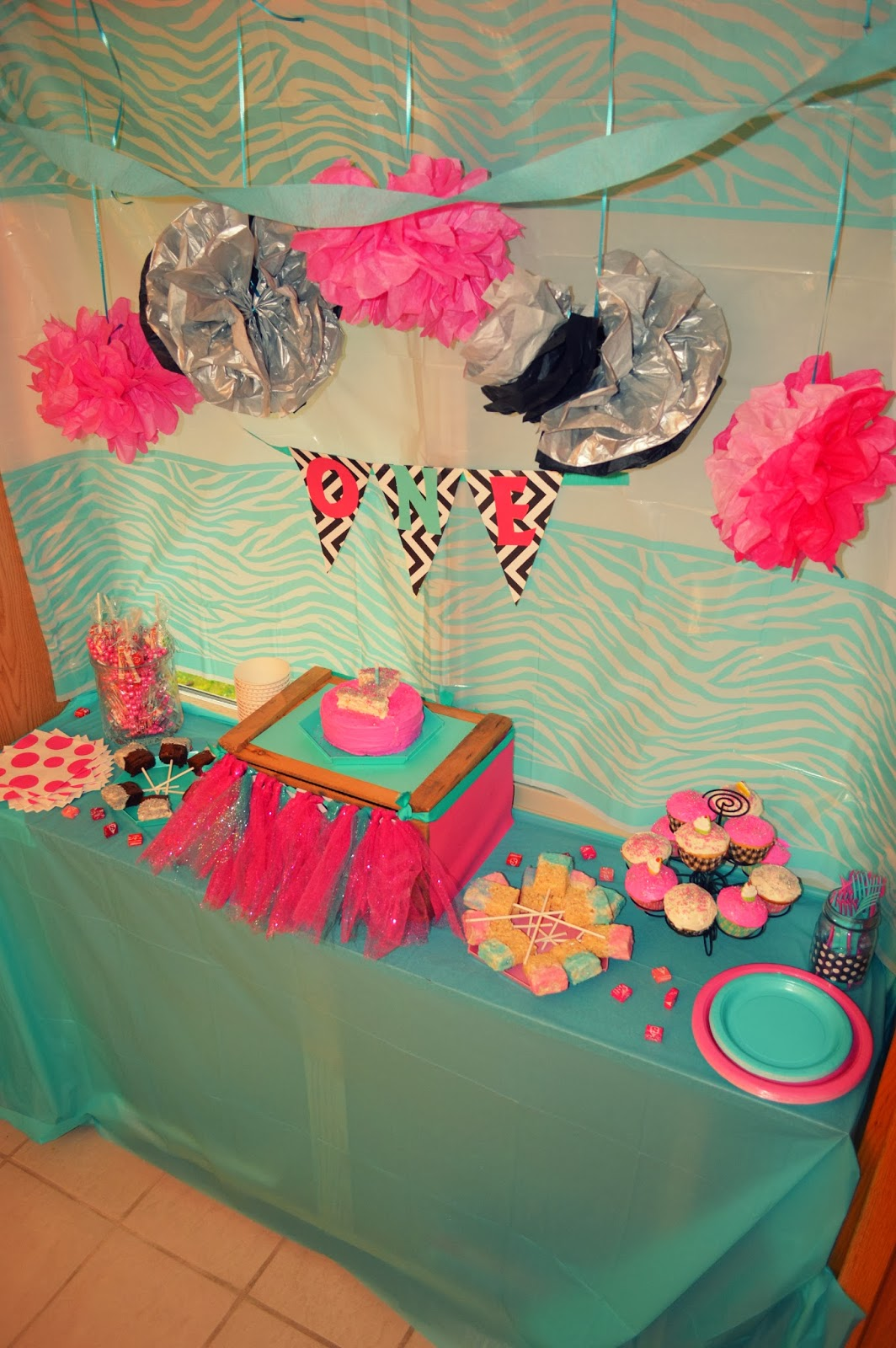 Orchard Girls: Pink & Blue 1st Birthday Party!