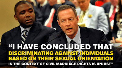 O'Malley stands up for all citizens