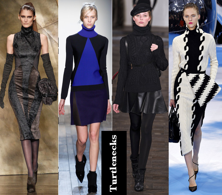 Women's Fall 2013/2014 Trends- Turtlenecks