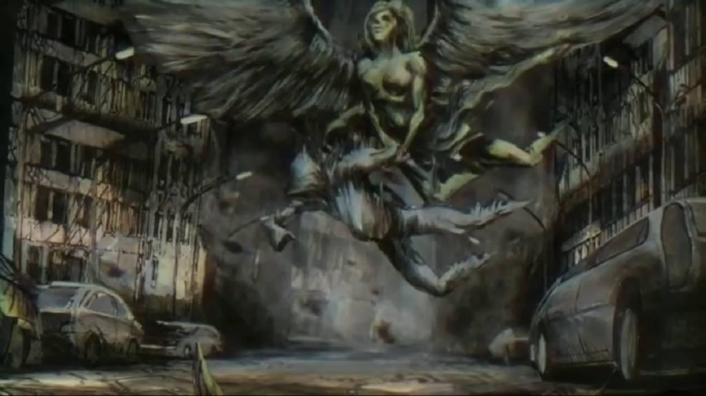 LUC unoszony przez wrocławskiego anioła