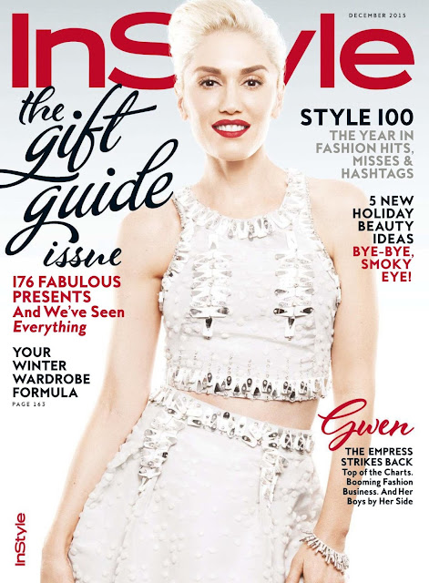Actress, Singer @ Gwen Stefani for InStyle US, December 2015