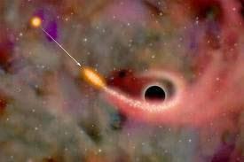 lubang hitam raksasa